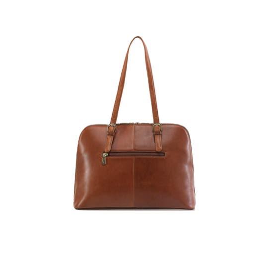 Jekyll & Hide Madrid Ladies Business Handbag, Tan