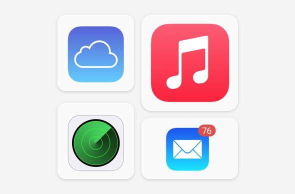 Apple Service setup