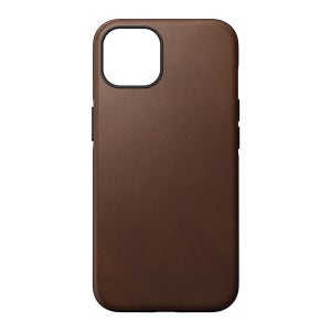 Nomad Modern Horween Leather Case for iPhone 13 Pro Max - Rustic Brown