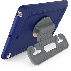 OtterBox Antimicrobial EasyGrab Case for iPad 9th / 8th / 7th Gen - Dark Blue