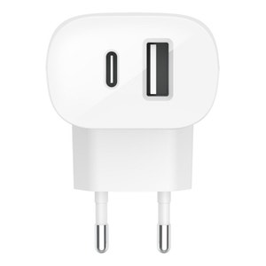 Belkin Boost Up Charge, 20W USB-C Port + 12W USB-A Port  AC Charger 32W