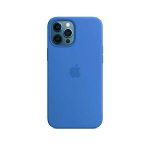 Apple Silicone Case MagSafe for iPhone 12 Pro Max - Capri Blue