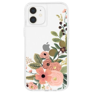 Rifle Paper Co. Case for iPhone 12 mini with Micropel Floral Vines