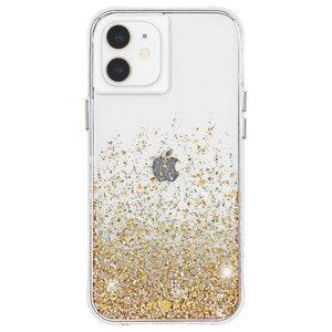 Case Mate Twinkle Ombré Case with micropel for iPhone 12 mini - Gold