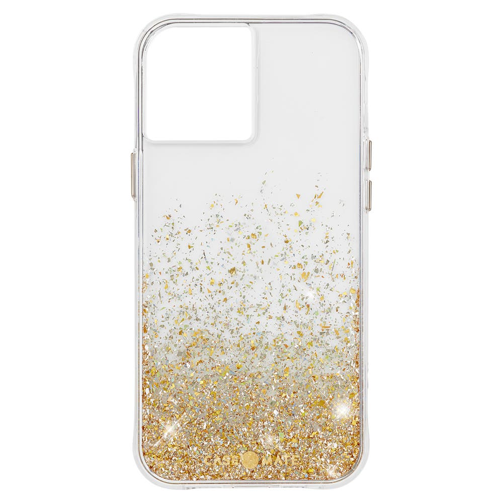 Case Mate Twinkle Ombré Case with Micropel for iPhone 12 Pro Max - Gold