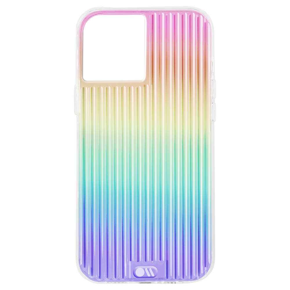 Case Mate Tough Groove Iridescent Case for iPhone 13 Pro Max - Clear