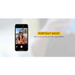 Make your subject 'pop' with Portrait Mode on iPhone.