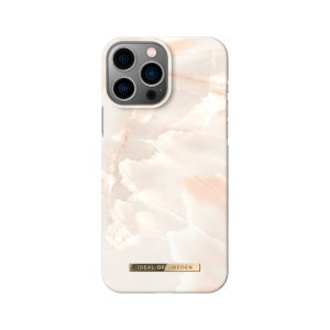 Ideal of Sweden Rose Pearl Marble Case for iPhone 13 Pro Max