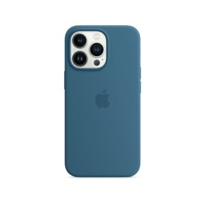 Apple Silicone Case with MagSafe for Phone 13 Pro Max - Blue Jay