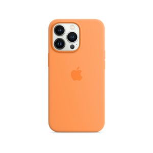 Apple Silicone Case with MagSafe for Phone 13 Pro Max - Marigold