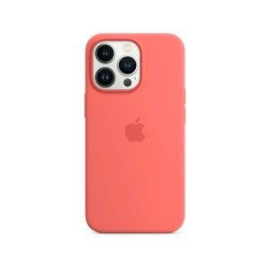 Apple Silicone Case with MagSafe for Phone 13 Pro - Pink Pomelo