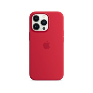 Apple Silicone Case with MagSafe for Phone 13 Pro Max - (PRODUCT) RED