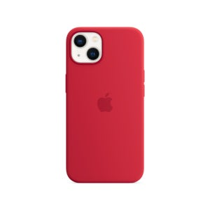 Apple Silicone Case with MagSafe for Phone 13 - (PRODUCT) RED
