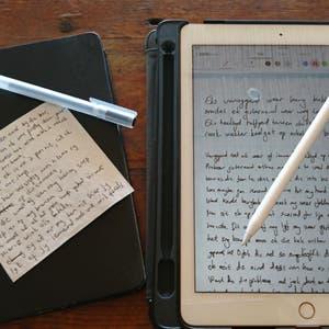 Jack Parow on creative writing with iPad Pro and Apple Pencil.