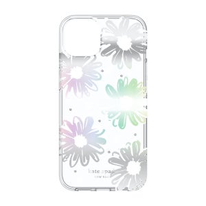 Kate Spade Protective Hardshell for iPhone 13 - Daisy Iridescent