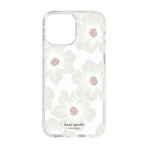 Kate Spade Protective Hardshell Case for iPhone 13 Pro - Hollyhock Floral