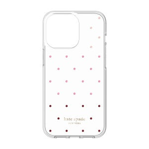 Kate Spade Protective Hardshell Case for iPhone 13 Pro - Pin Dot / Ombre