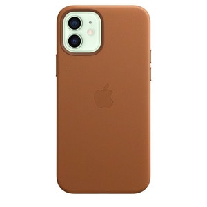 iPhone 12 / 12 Pro Leather Case with MagSafe - Saddle Brown