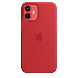 Apple Silicone Case with MagSafe for iPhone 12 mini - (PRODUCT)RED