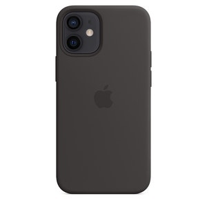 Apple Silicone Case with MagSafe for iPhone 12 mini - Black