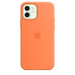 Apple Silicone Case with MagSafe for iPhone 12 / 12 Pro - Kumquat