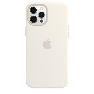 iPhone 12 Pro Max Silicone Case with MagSafe - White
