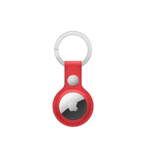 AirTag Leather Key Ring - (PRODUCT)RED
