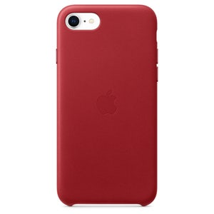 iPhoneSE Leather Case - (PRODUCT)RED