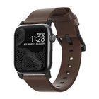 Nomad Leather Strap for 38 / 40mm Apple Watch - Brown / Black