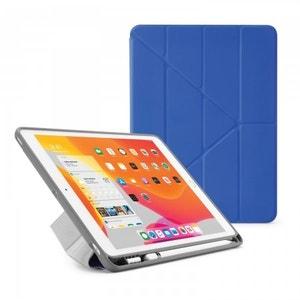 Pipetto TPU Origami Pencil Case for iPad 10.2-inch - Royal Blue