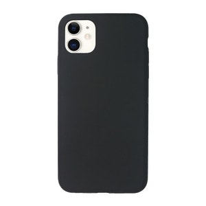 QDOS Touch Silicone Case for iPhone 11 / Xr - Black