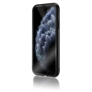 QDOS OptiGuard Infinity Glass for iPhone 11 Pro Max - Clear / Black