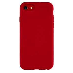 QDOS TOUCH Silicone Case for iPhone SE / 8 / 7 - Red