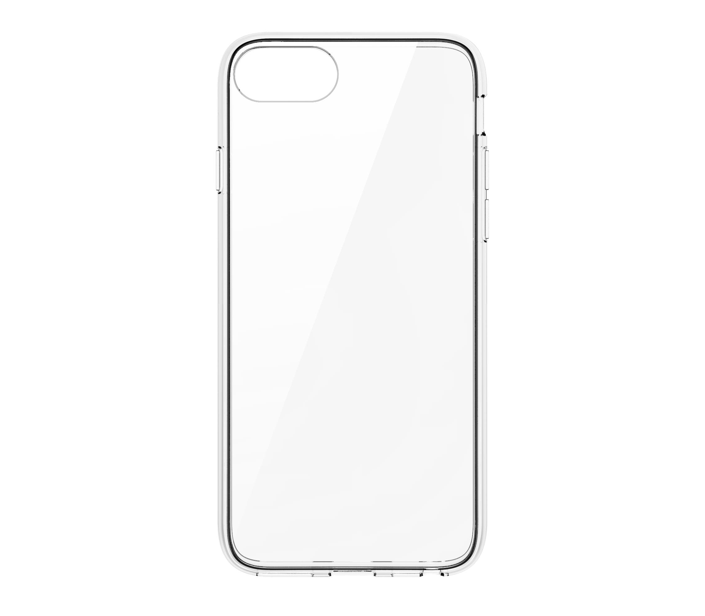QDOS Hybrid Case for iPhone SE / 8 / 7 - Clear