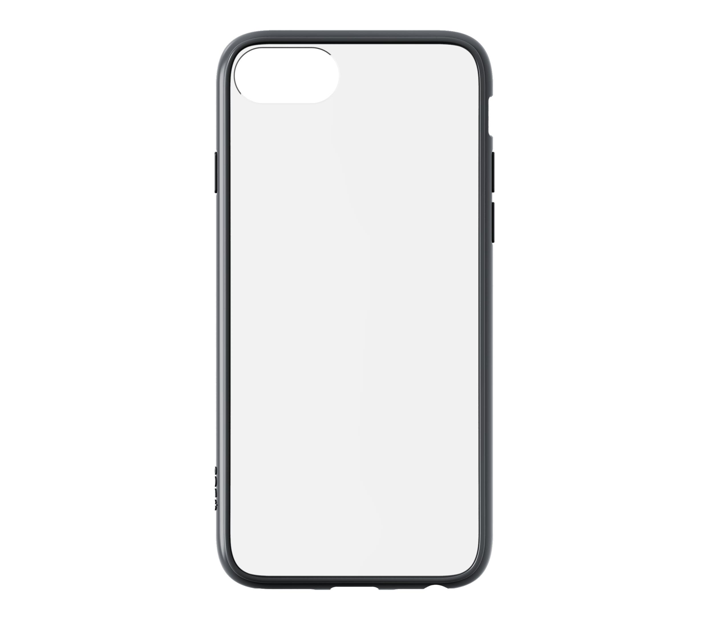 QDOS Hybrid Case for iPhone SE / 8 / 7 - Space Grey