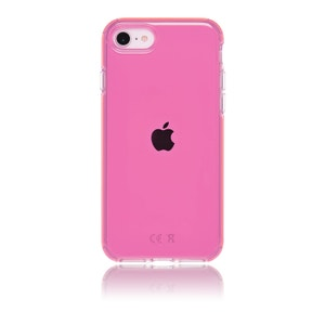 QDOS Hybrid Case for iPhone SE / 8 / 7 - Neon Pink