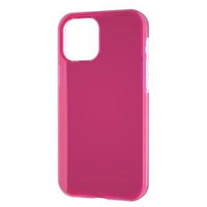 QDOS Hybrid Case for iPhone 12 Pro Max - Neon Pink