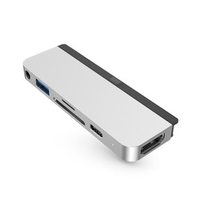 HyperDrive 6-in-1 USB-C Hub for iPad Pro/Air Silver