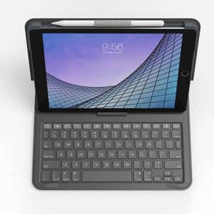 Zagg Keyboard Messenger Folio for iPad 10.2-inch / Air 3 / Pro 10.5-inch - Charcoal