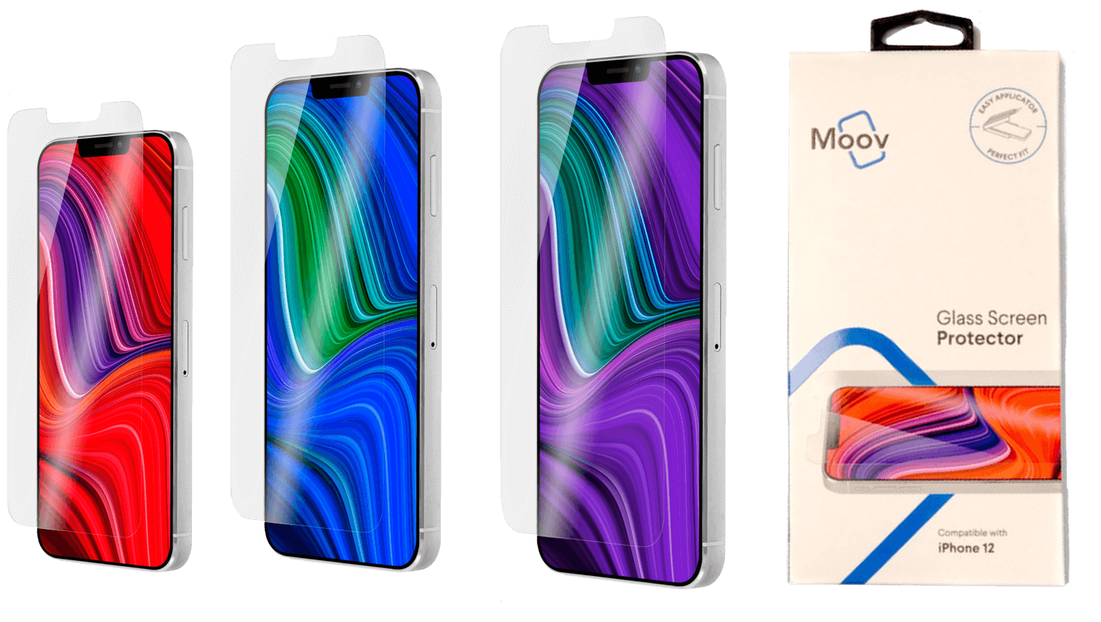 Moov Glass Screen Protector for iPhone