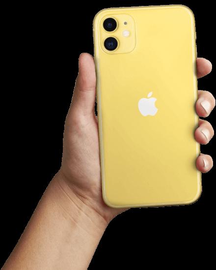 Yellow iPhone 11